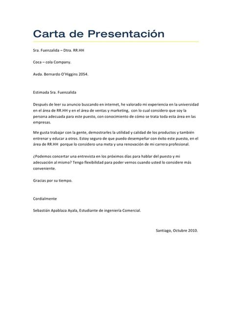 Modelo Carta De Presentacion Curriculum Ingles C 243 Mo Hacer Una Carta De Presentaci 243 N De Opcionis
