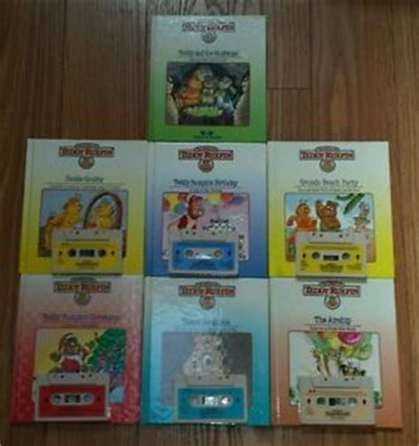 teddy ruxpin cassette 6 vtg the world of teddy ruxpin matching books cassette