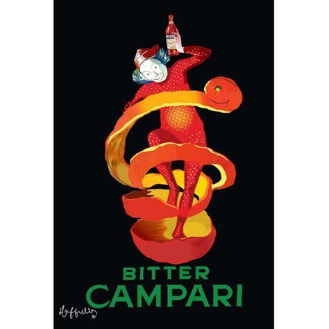 Bitter Campari Orange Peel Jester by Leonetto Cappiello