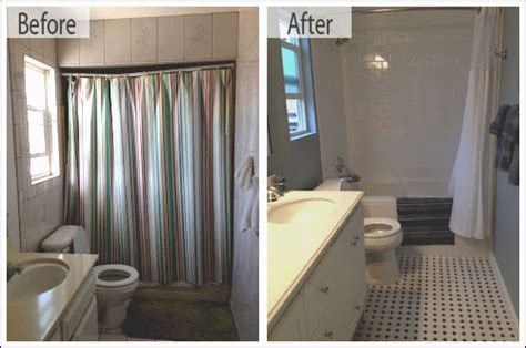 Converting Bath To Shower bathroom remodel spotlight holly h one week bath