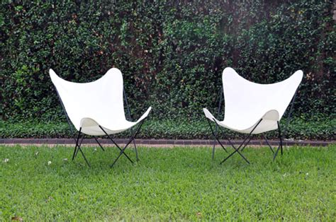 butterfly chairs of an architect