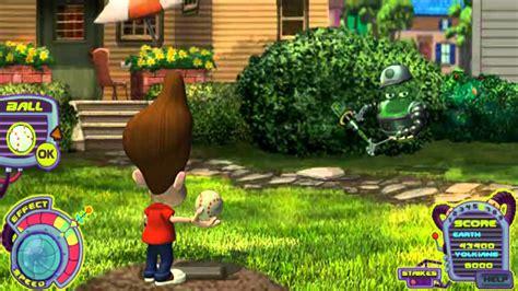 jimmy neutron backyard smashball the adventures of jimmy neutron boy genius flash game