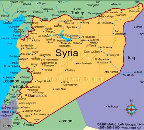 middle east map syria syria is not going to change