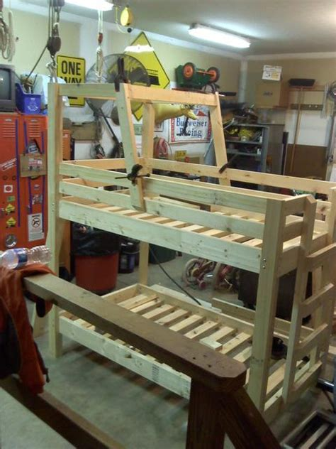 tractor bed frame shaun bennett s tractor bunk bed