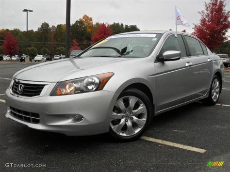 alabaster silver metallic 2009 honda accord ex v6 sedan exterior photo 55826516 gtcarlot