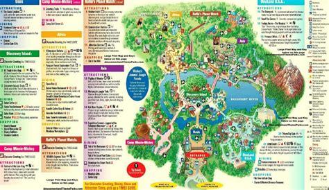 printable map of animal kingdom orlando rookie mistakes to avoid at animal kingdom mickeyblog com