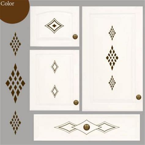 cabinet accents kitchen cabinet decorative decal stickers