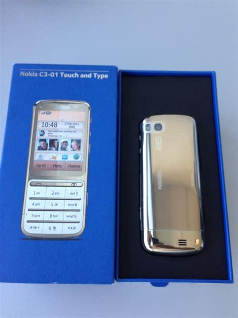 Hp Nokia C3 01 Gold Edition nokia c3 01 gold edition citytel