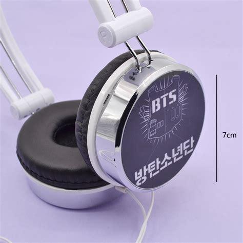 Headphone Kpop kpop korean bangtan boys bts headset earphone headband headphones fashion ebay