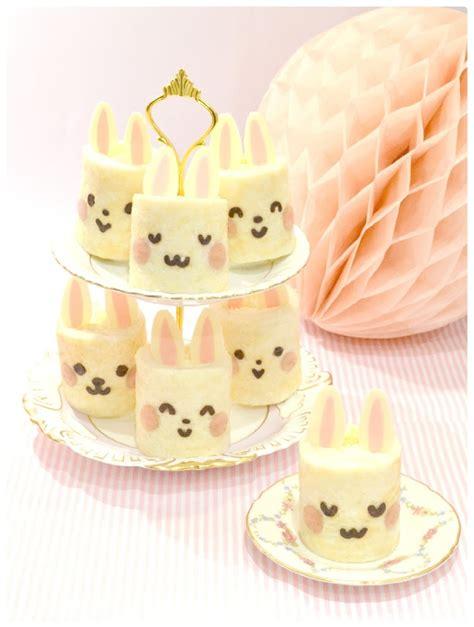 Roll Cake Rabbit mini bunny deco japanese sponge roll cake ch 233 rie