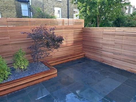 privacy screen for backyard modern garden design london garden blog