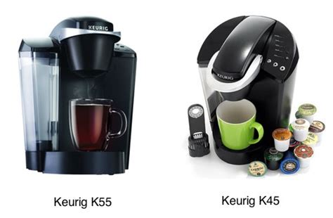 Is There a Difference Between Keurig K55 and K45?   Coffee