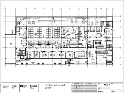 Floor Layout Center On Halsted Second Floor Plan