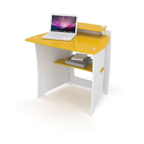 Yellow Computer Desk by 34 Inch Child Sized Computer Desk Yellow And White