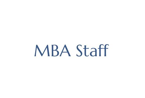 Mba Font by Mba Staff