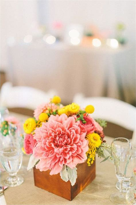 pink and yellow wedding ideas knotsvilla