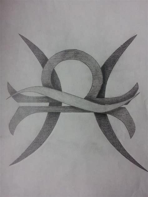 pisces and scorpio tattoo libra and pisces combined tattoos libra and pisces