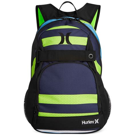 tas hurley honor roll navy blue hurley honor roll backpack in yellow for midnight
