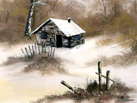 bob ross painting cabin bob ross paintings bob ross paintings landscape