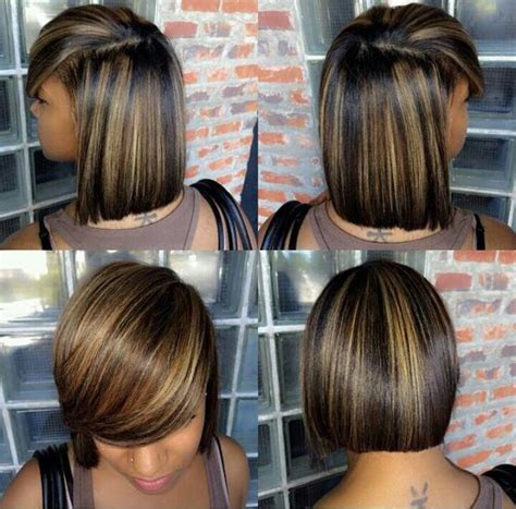 relaxer for short hair 25 best ideas about medium weave hairstyles on pinterest