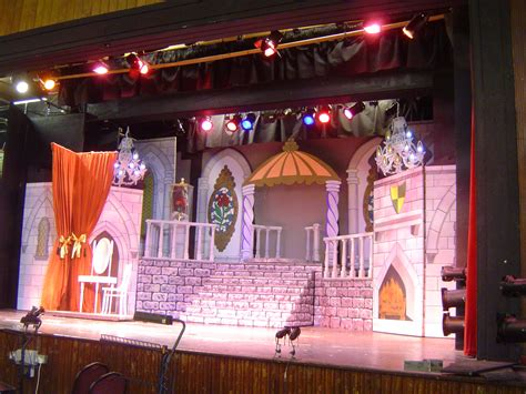 what town is beauty and the beast set in beauty and the beast stage set scenery hire sets props