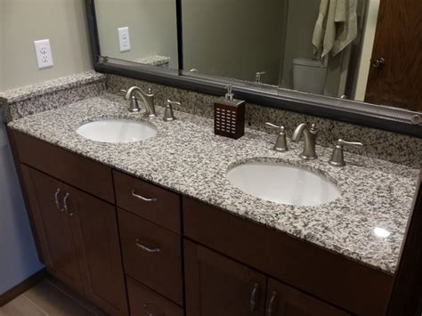 pictures of white granite bathroom countertops tiger skin granite countertops modern bathroom cedar rapids by primotops llc