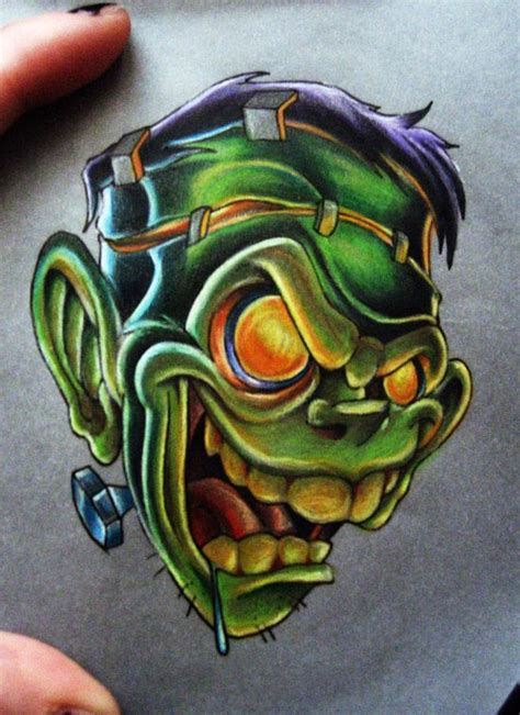 new school frankenstein tattoo 1071 best images about flash tattoo reference portfolio on
