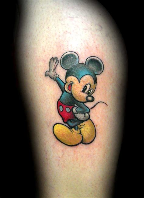 mickey tattoos 14 marvelous mickey mouse tattoos