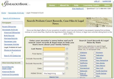 Probate Court Records How To Search Probate Records In Genealogybank S Newspaper Archives