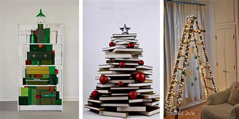 christmas 15 alternative christmas tree ideas