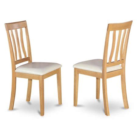 upholstered antique dining chair set of 2 walmart