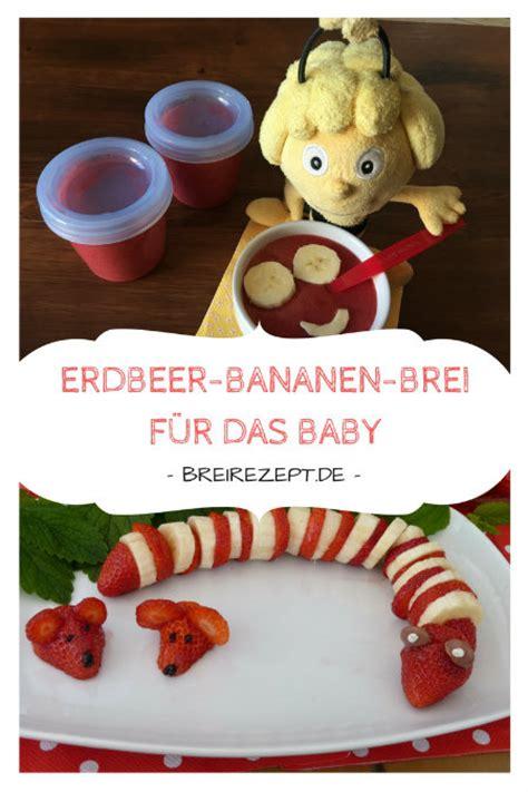 ab wann obstbrei erdbeere bananen brei nicht nur f 252 r baby