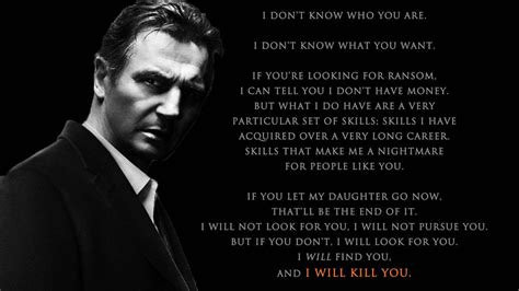 film quotes from taken taken i will find you by tohru rokuno on deviantart