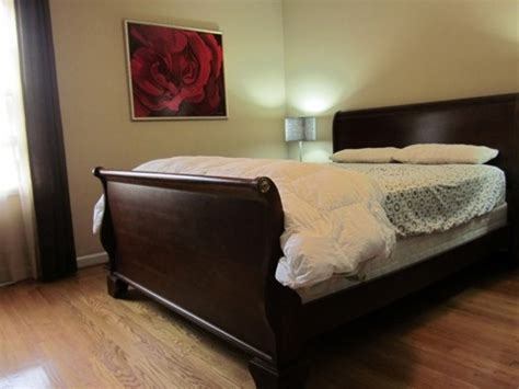 sleigh beds for sale queen cherry sleigh bed for sale for the home pinterest