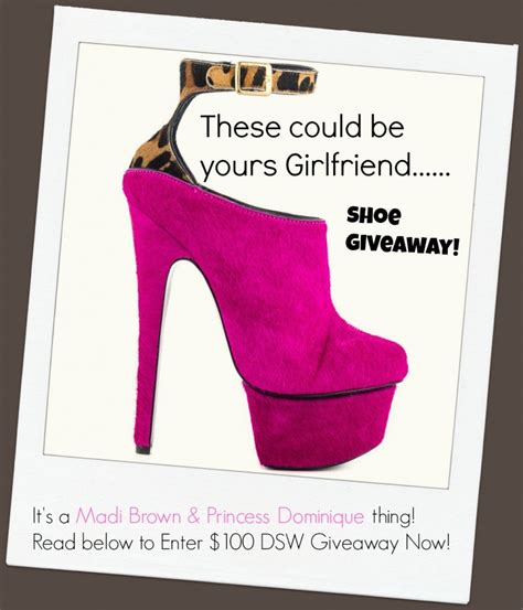 Dsw Gift Card - the weekly shoe giveaway madison madi brown 100 dsw gift card promotion