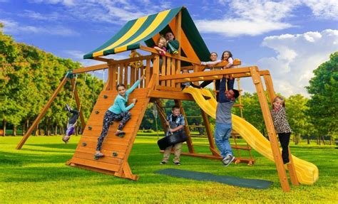 best outdoor swing sets dreamscape a outdoor swing set best in backyards