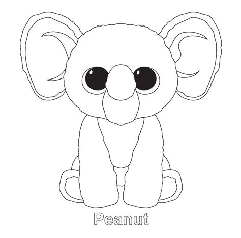 beanie babies coloring page beanie boos coloring pages nadia pinterest beanie