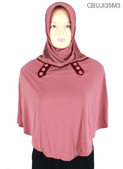 Bergo Jumbo Kaos Tc Sepaha jilbab bergo syari jumbo elisa kancing jilbab pashmina murah batikunik