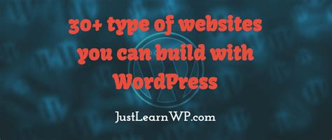 websites where you can draw 35 types website you can create with wordpress the