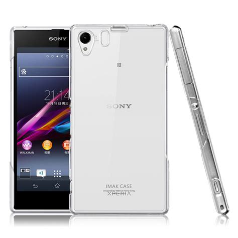 Imak Clear Sony Xperia Z Ultra imak 1 ultra thin for sony xperia z1 l39h transparent jakartanotebook