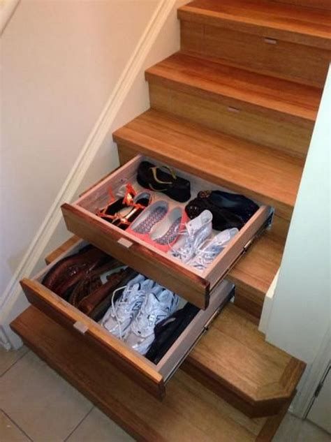 Storage Drawers In Stairs by Creative The Stair Storage Ideas Noted List