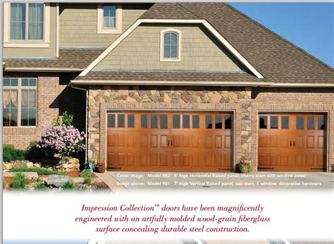 Overhead Door Of Winnipeg And Strength The Impression Collection 174 Garage Doors It All Overhead Door Of