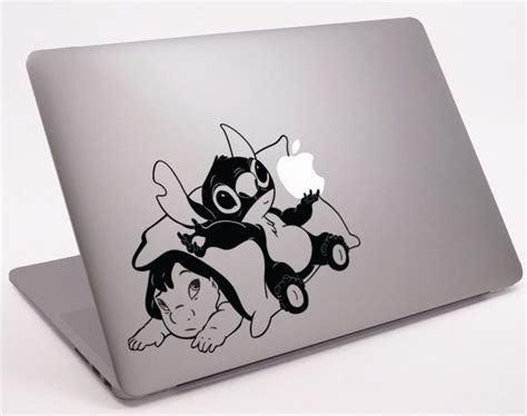 Stiker Lilo And Stitch Sticker Laptop Stiker Cutting baby lilo and stitch laptop notebook macbook decal 11 quot 13 quot 15 quot 17 quot