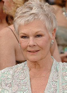 judith dench haircut judi dench on pinterest judi dench daniel craig and