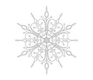easy snowflake template snowflake templates 49 free word pdf jpeg png format