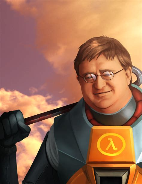 gabe the original image 779960 gabe newell your meme
