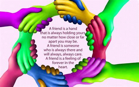 friendship hands image wallpaper