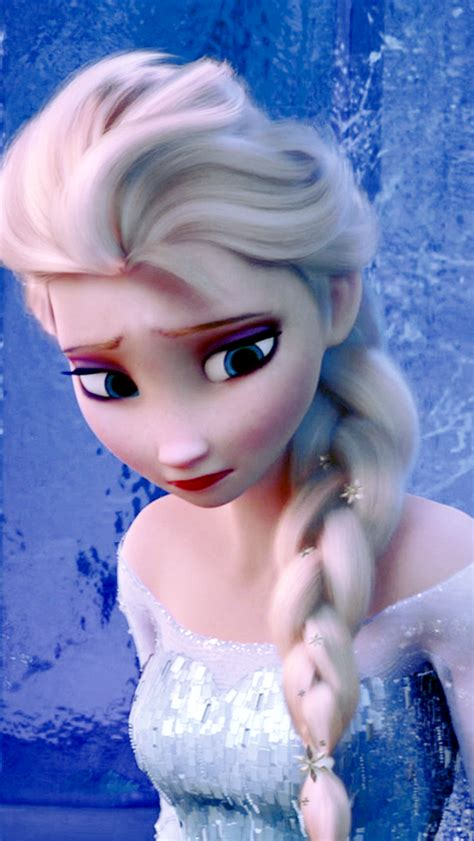 frozen wallpaper smartphone elsa frozen wallpaper phone wallpapersafari