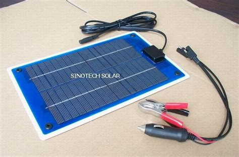 solar charger car battery 5w flexi pv solar car battery charger china