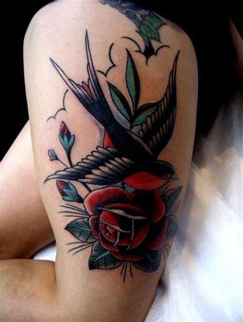 rose and swallow tattoo meaning 51 excellent tattoos designs with meanings